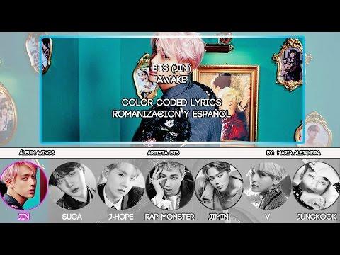 "BTS (방탄소년단) Jin (진) ""Awake"" [ROM|SUBESPAÑOL LYRICS]"