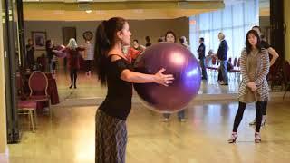 Tango Fundamental Technique 4 - Tecnica para el Tango Clase 4 Georgina & Oscar Mandagaran