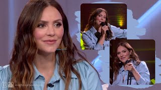 Katharine McPhee Foster - Interview and performing @ The Kelly Clarkson Show (5 April 2021)
