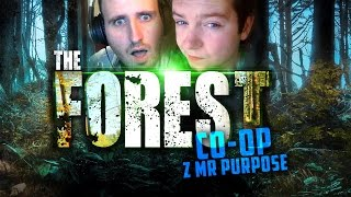 The Forest CO-OP! (alpha 0.09b) #1 - DUŻO CZARKÓW! | Vertez & Purpose