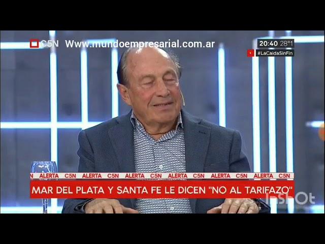Carlos Spadone se refirió en duros términos a la familia Macri