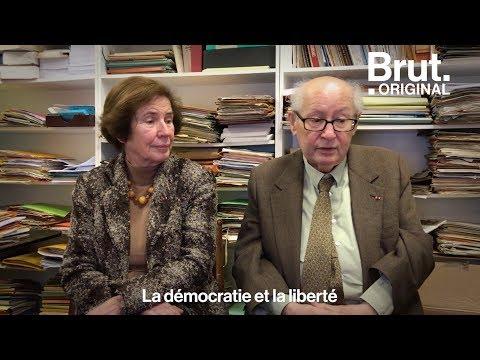 """Le devoir de mémoire de Beate et Serge Klarsfeld, """"chasseurs de nazis"""""""