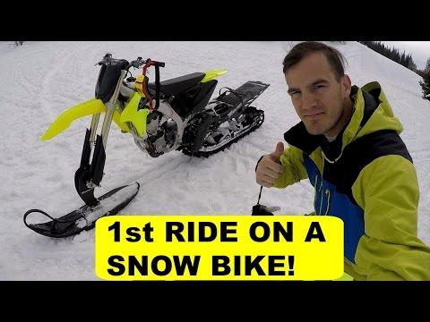 SNOW BIKE RIDE | BENNYTREE MXVLOG | TIMBERSLED | YETI | MOTOCROSS | MX | UTAH