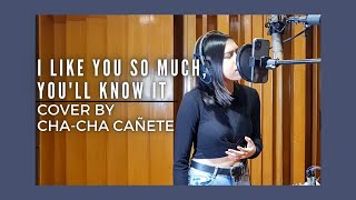 Download I Like You So Much, You'll Know It - Ysabelle Cuevas Cover by Cha-Cha Cañete