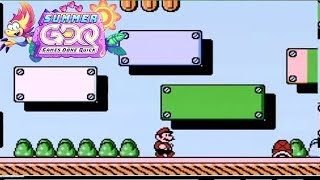 Super Mario Bros. 3 race by mitchflowerpower, grandpoobear, Lawso42 and TheHaxor in 50:12 SGDQ2019