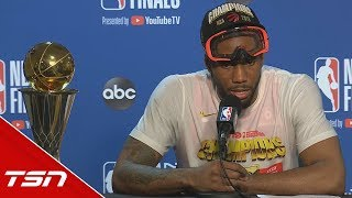 Kawhi: I wanted to make history here, and that's all I did