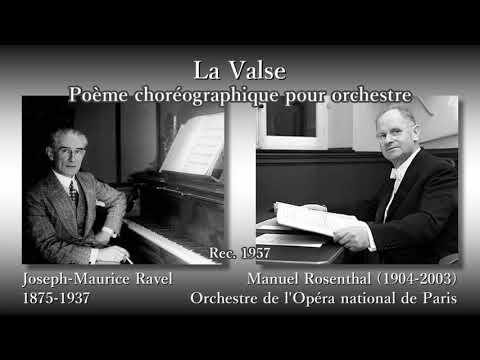 Ravel: La Valse, Rosenthal (1957) ラヴェル ラ・ヴァルス ロザンタール