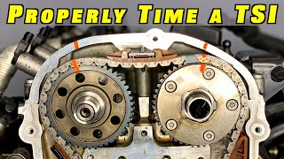 How To Properly Time and Install Timing Chains on a TSI Engine