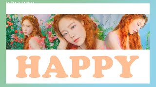 Cover images [KARAOKE/THAISUB] TAEYEON - Happy #พีชซับไทย
