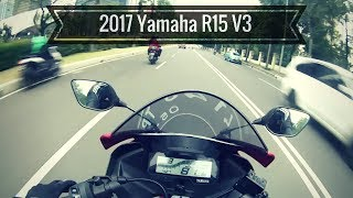 2017 Yamaha R15 V3 Test Ride Review - India Launch Confirmed!