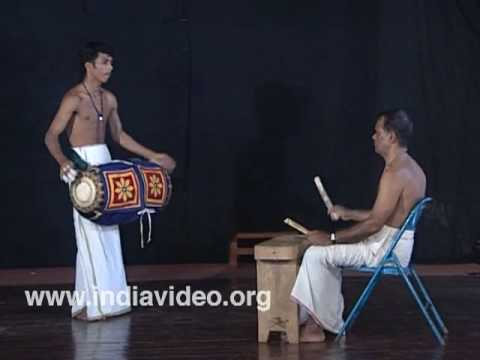 Maddalam - Learning to play the melodious drum