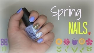 Spring Nail Tutorial ✿ Thumbnail