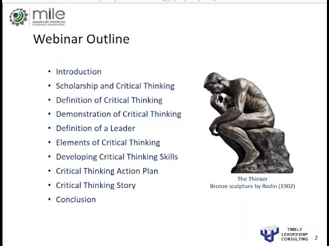 How to Develop a Crucial Leadership Skill | Dr. Paul Greasley | MILE Webinar