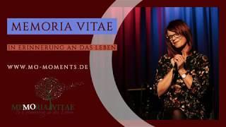 MEMORIA VITAE - In Erinnerung an das Leben - Benefizkonzert Teil 2 - gesungen von MO
