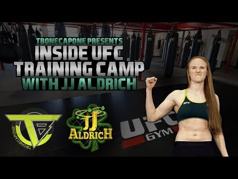 My UFC Training Camp with JJ Aldrich