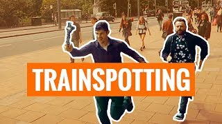 Trainspotting Edinburgh - Recreating The Running Scene (Vlogger style)