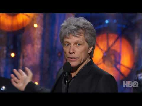 Bon Jovi's Induction into the Rock & Roll Hall of Fame