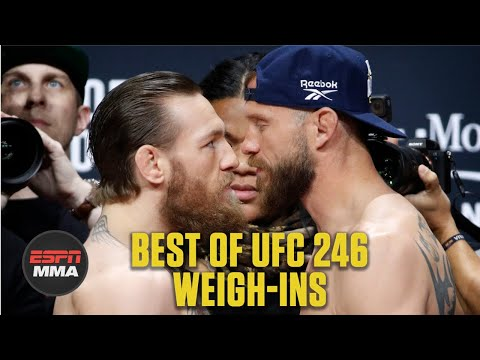Best Of UFC 246: Conor McGregor Vs. Cowboy Cerrone Weigh-Ins   ESPNMMA
