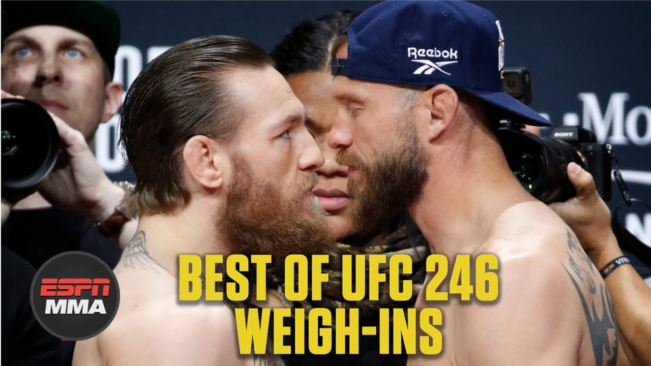 Best of UFC 246: Conor McGregor vs. Cowboy Cerrone Weigh-Ins | ESPNMMA