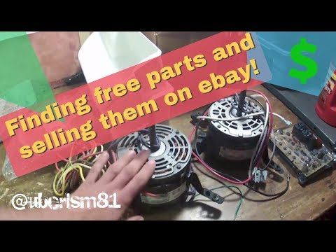 Free parts to sell on ebay! Reselling and scrapping for a living. Vlog