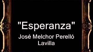 Esperanza - José Melchor Perelló Lavilla [BM]