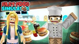 EN ÇALIŞKAN BİZ OLDUK Roblox Fast Food Simulator