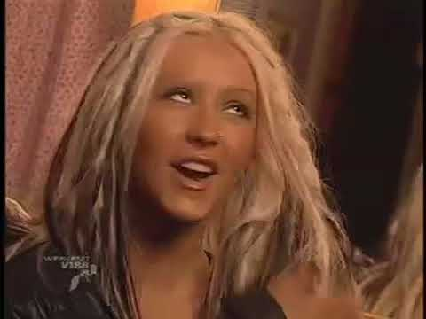 Christina Aguilera Interview 2002