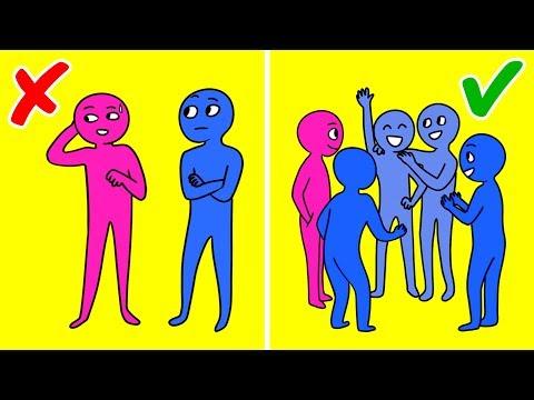 Как перестать стесняться парней при общении и быть более открытой