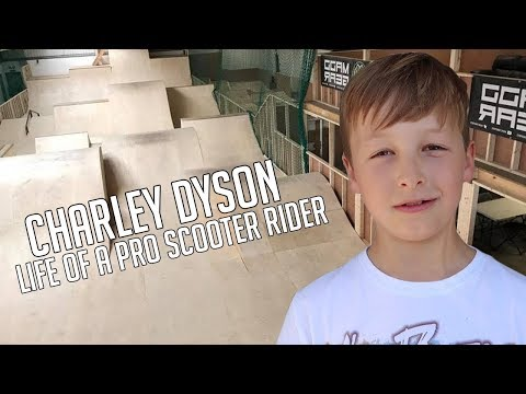 Charley Dyson   Life of a Pro Scooter Rider