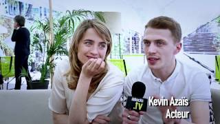 Les combattants     Interview de Adèle Haenel et Kevin Azaïs H264 1280x720
