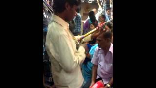 India's Got Talent in Mumbai local train.