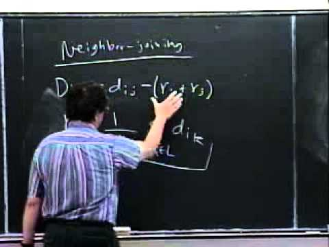 Lecture 29; Additive trees and the Neighbor-Joining algorithm