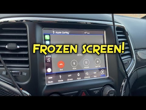 First Problem With The Trackhawk Uconnect Issue Youtube