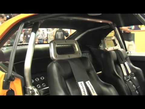Streetlegaltv Com Air Ride Technologies Tiger Cage Youtube