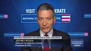 "Word for Word: ""Constitution says nothing about national emergencies"" (C-SPAN)"