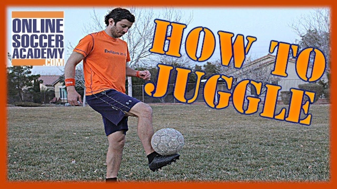 58134ac00 Soccer Training - How to Juggle a Soccer Ball with your Feet by Online  Soccer Academy - YouTube
