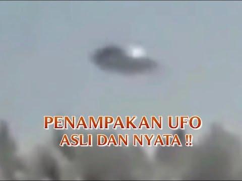 """VIDEO PENAMPAKAN """"UFO ASLI DAN NYATA DI DUNIA"""" PENAMPAKAN ..."""