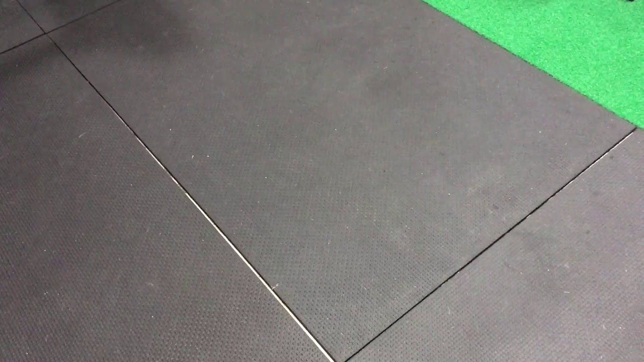 Horse Stall Mats Gym Floor Review Youtube