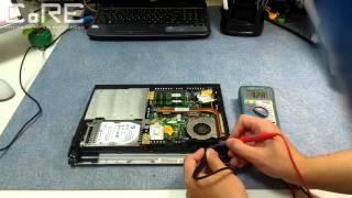 видео Устранение проблемы отсутсвия изображения на ноутбуке