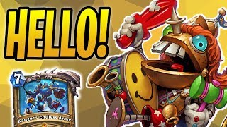 Sir ANNOY-O Is HERE! | Deathrattle Paladin | The Boomsday Project | Hearthstone