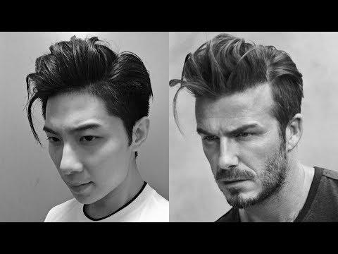 DAVID BECKHAM HAIRSTYLE  | STYLING KOREAN TWO BLOCKCUT  |  MENSHAIR TUTORIAL | ISSAC YIU