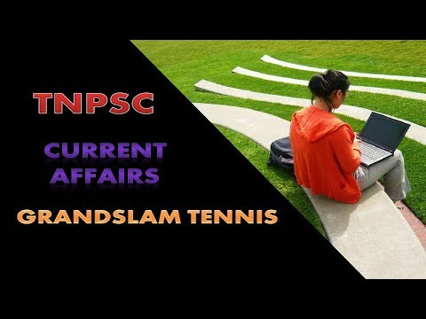 TNPSC Current Affairs Tennis games Tamil