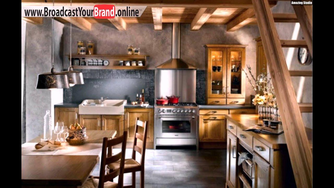 Traditioneller Küchen Dekor Herd - YouTube
