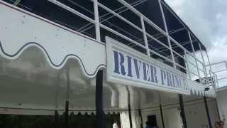 Колёсный пароход на реке Чавон, Доминикана(Доминикана - Прогулка по реке Чавон на катере a-la