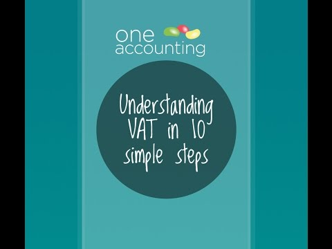 One Accounting - Understanding VAT in 10 simple steps