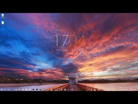改善WIndows視覺體驗-桌面時鐘小工具