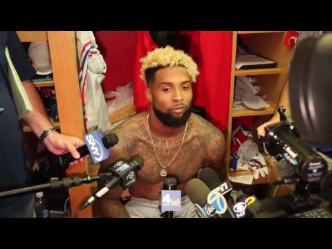 Odell Beckham Jr. full interview session