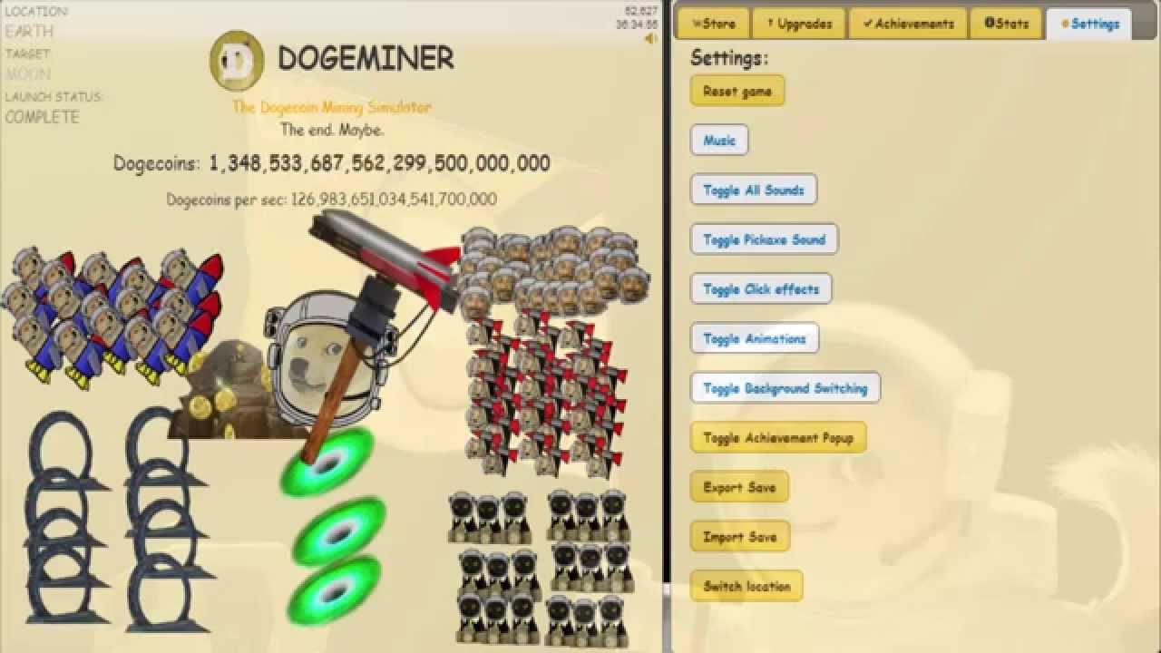 DOGE MINER Update Passatempo