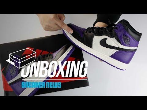 Unboxing Air Jordan 1