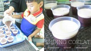 Puding Cokelat Vla ala KFC | Tutorial bikin Puding Cokelat Super Yummy